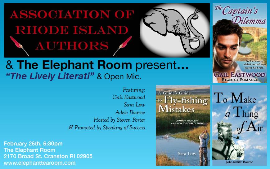 Lively Literati Elephant Room