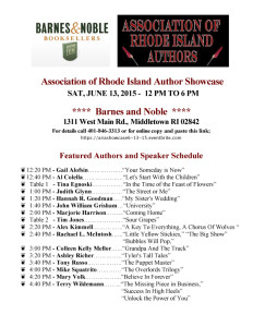Association of RI Author Showcase copy